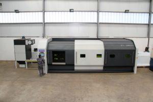 TECOI laser fibre TRUMPH série FL DISK,combiné tôle et tube