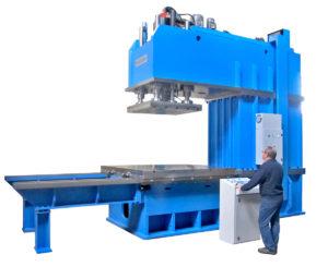 presse hydraulique à col de cygne hydrogarne série CM 250 t