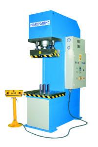 presse hydraulique à col de cygne hydrogarne série CM 150 t
