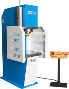 presse hydraulique à col de cygne hydrogarne série CD