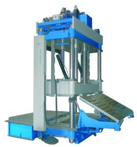presse hydraulique à colonne hydrogarne série ML 300