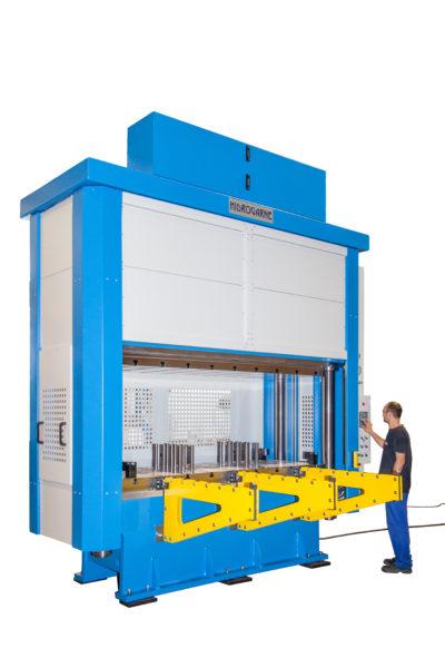 presse hydraulique à colonne hydrogarne série MV