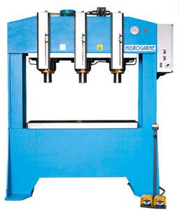 presse hydraulique d'atelier hydrogarne série F