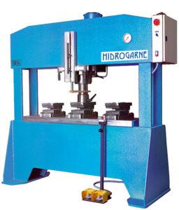 presse hydraulique d'atelier hydrogarne série FLM 100 T