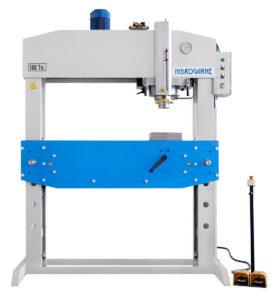 presse hydraulique d'atelier à vérin déplaçable hydrogarne série L