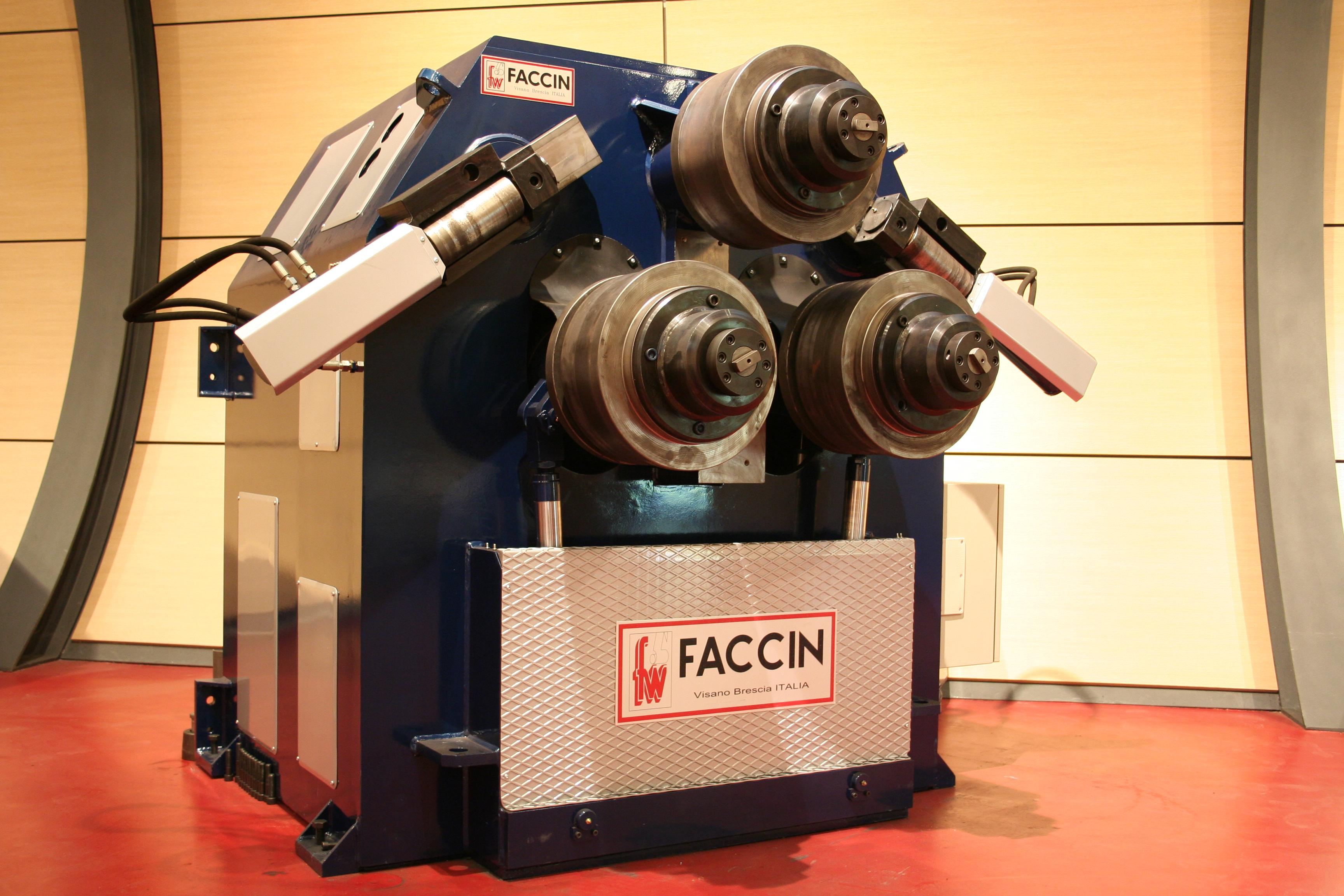 cintreuse a galet Faccin
