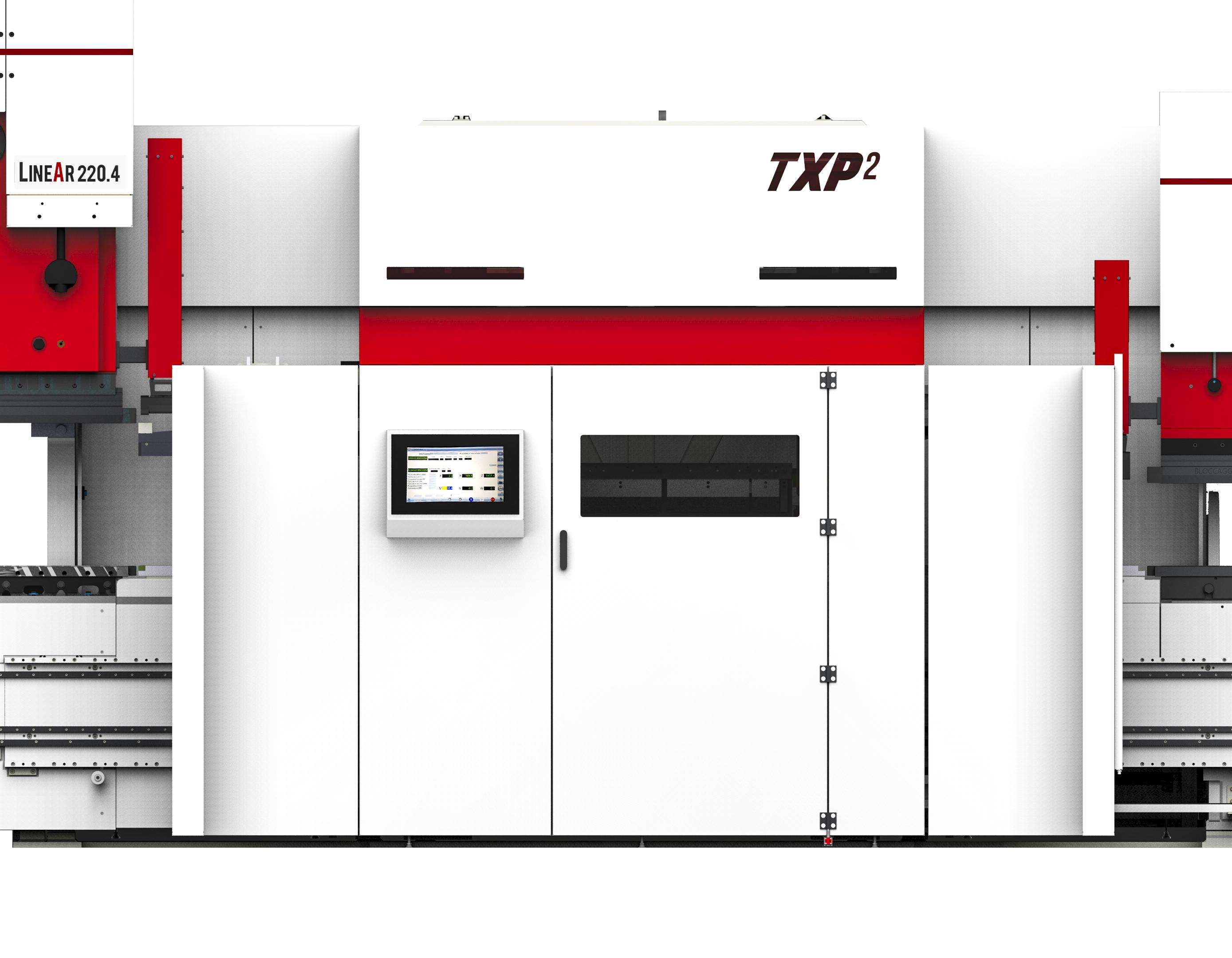 TXP2 magasin d'outillage presse plieuse Schiavi