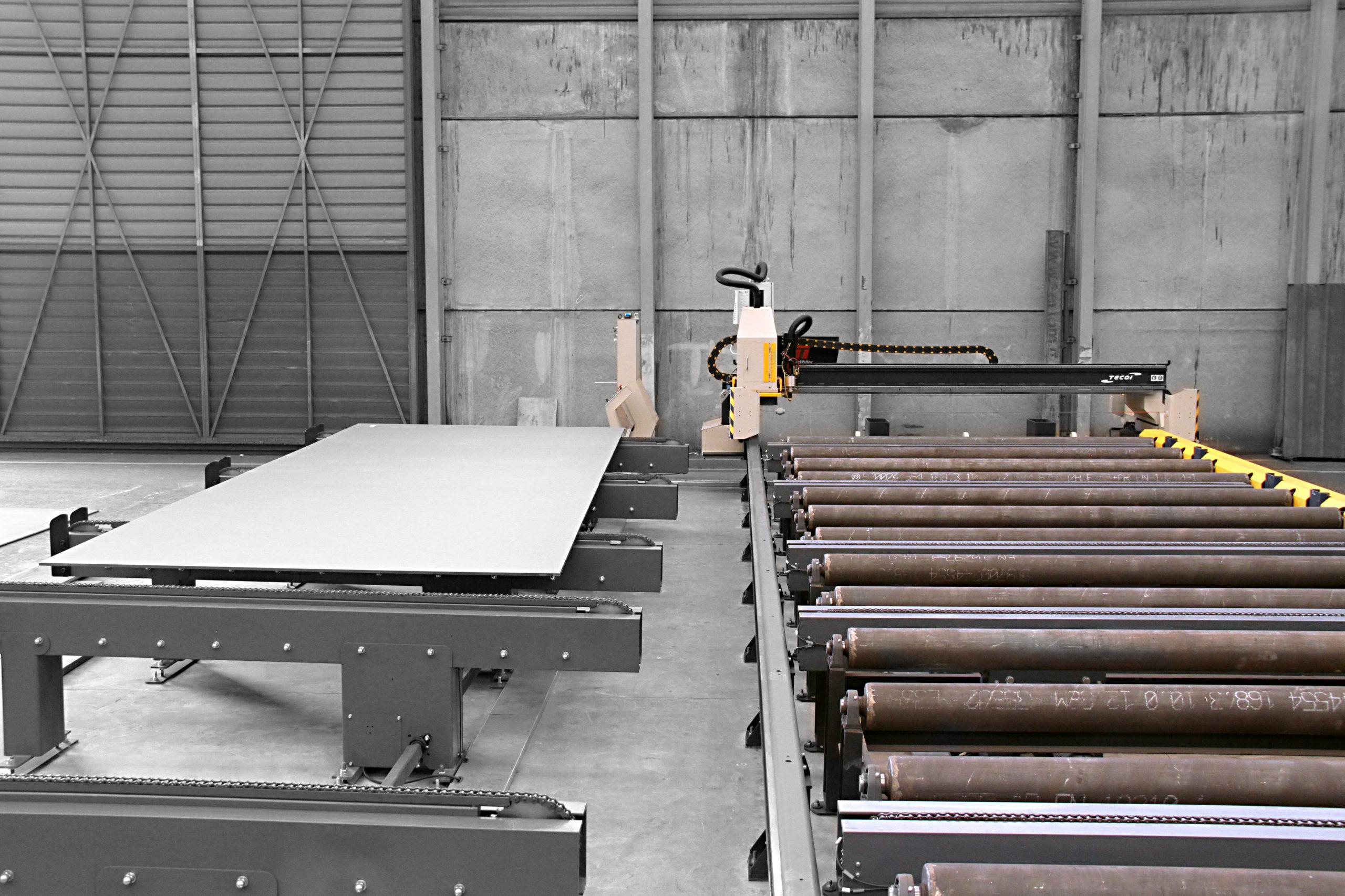 table de marquage laser